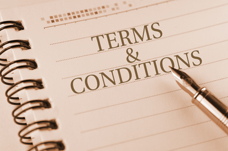 Draw up a written agreement of terms and conditions in advance (image: iStock)