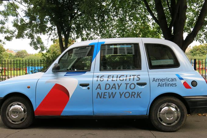 American Airlines and MediaCom debut geofencing in motion ad campaign