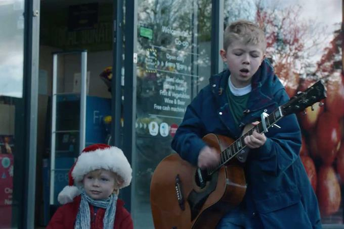 Co-op recruits junior Noel and Liam Gallagher for Christmas campaign