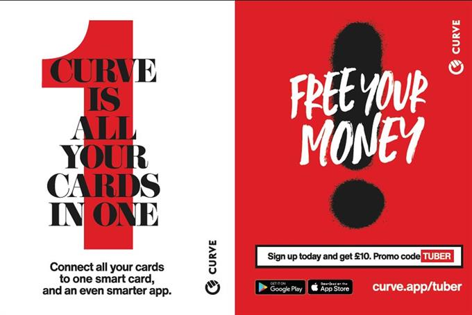 Fintech brand Curve launches first campaign