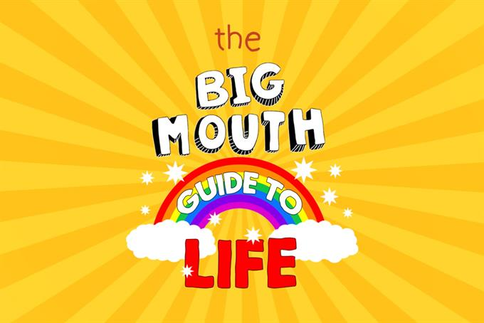 'Big Mouth' agency on educating a generation about 'spunk, boobs and all the rest'