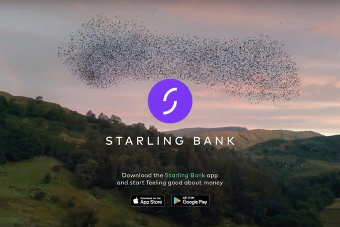 Challenger brand Starling Bank launches first TV ad