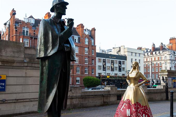 Netflix marks Enola Holmes release with statues of women who have been overshadowed