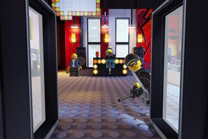 Lego launches clothes shop with no clothes