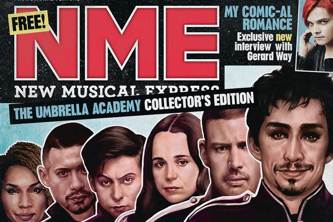 NME partners Netflix for special print run