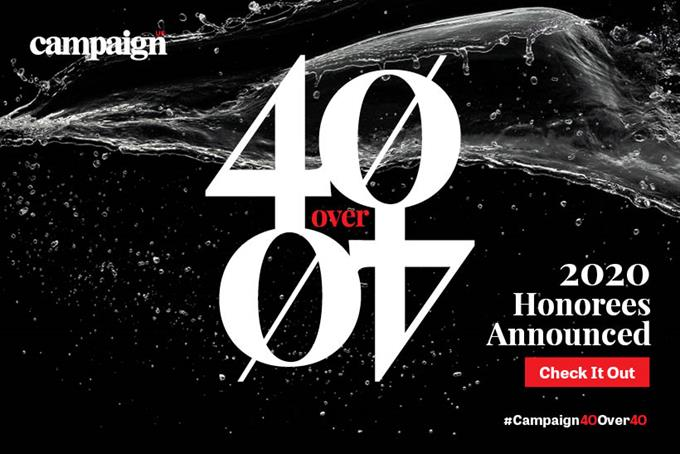 Campaign US' 40 Over 40 honorees revealed