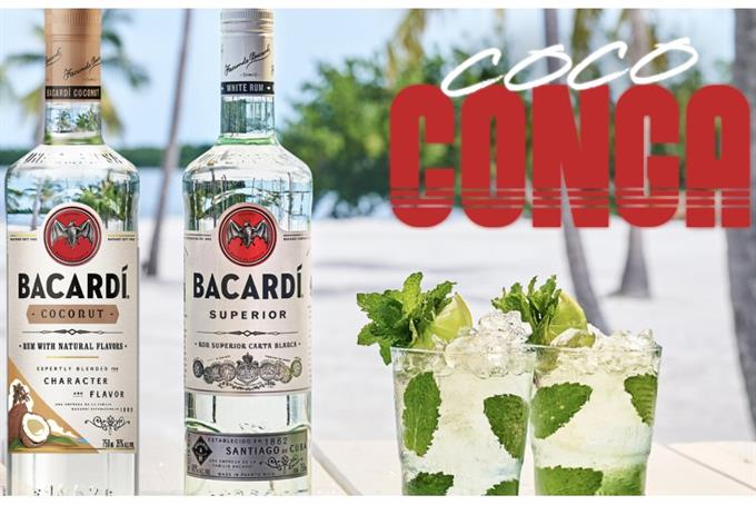 "Bacardi revives Gloria Estefan's ""Conga"" in crowdsourced music video"