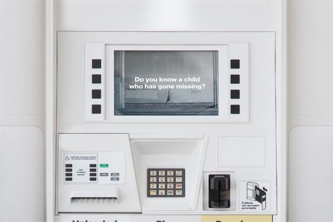 The new milk carton: Gas stations post ads to search for missing children