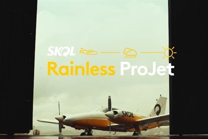 Skol wants to keep the good times rolling on with cloud seeding campaign