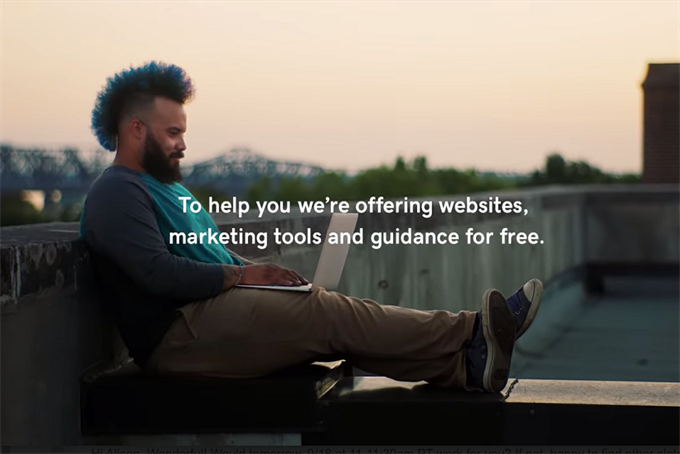 GoDaddy sets its sights on reopening in new campaign