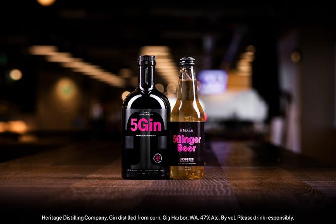 T-Mobile bottles up the spirit of 5G with gin and ginger beer launch