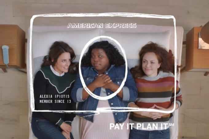 Tina Fey is more Tina Fey than ever in new Amex campaign