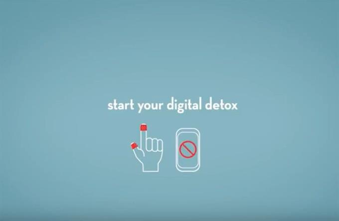 Band-Aid says to put on bandages and take a digital detox