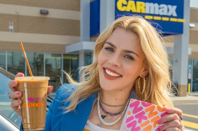 Why CarMax and Dunkin' want you to 'do donuts'