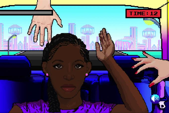 Tired of being touched, a Wieden+Kennedy AD creates a game about black hair