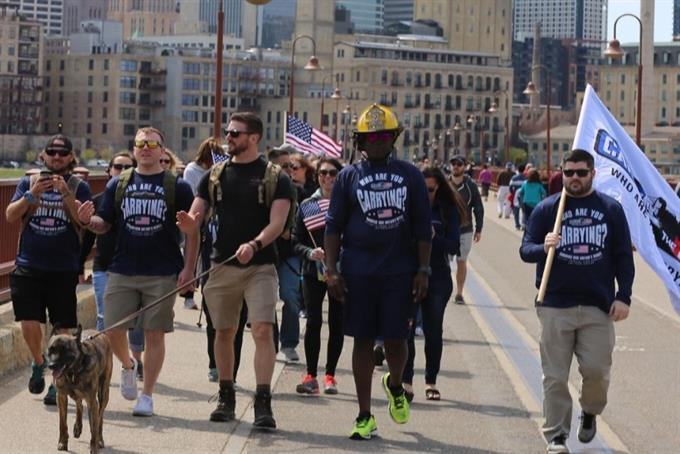 Fritos and Carry The Load team up to support U.S. military