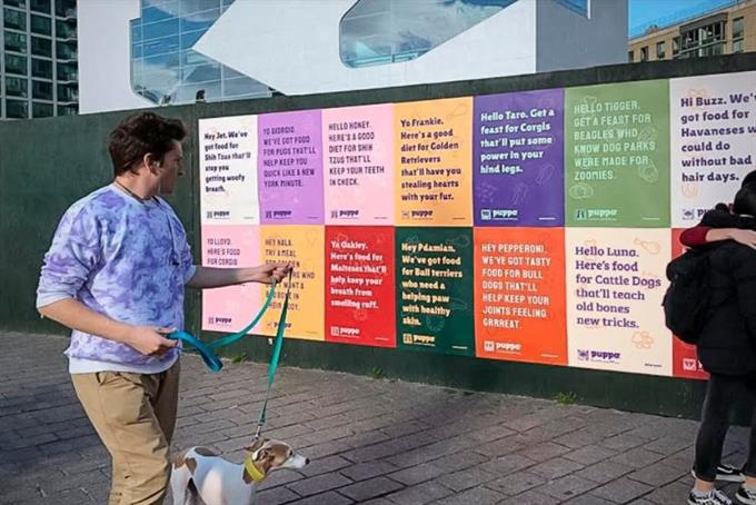 100,000 New York City dogs get their own ad