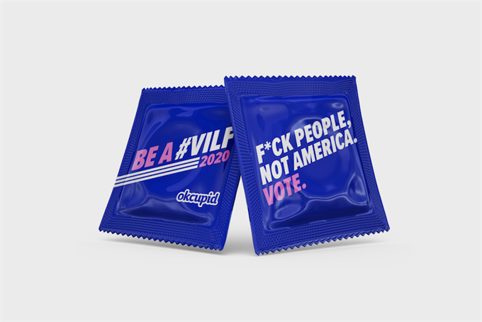 Sex sells, but so does fear: Two voter registration campaigns take different tacks