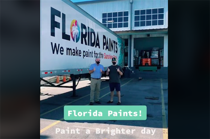 Florida Paints hires TikTok star fired by Sherwin-Williams and gives him art studio