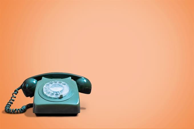We've taken our last new business phone call
