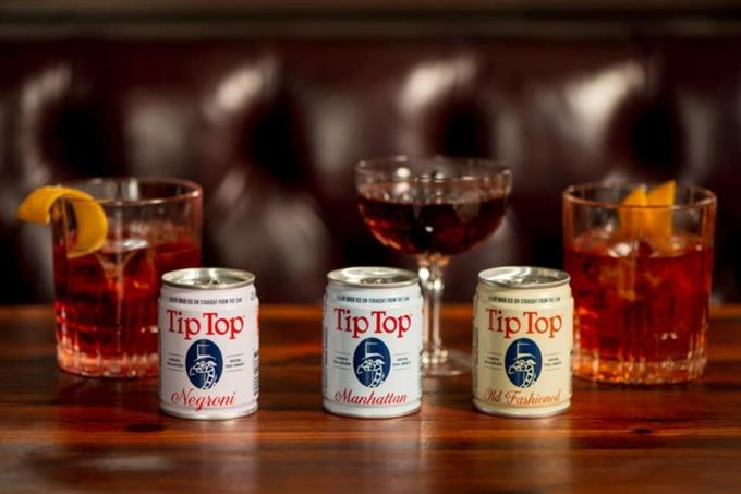 Alcohol branding is now all about the can