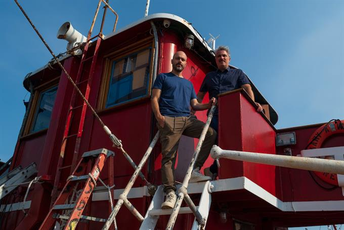 Meet the agency operating from a boat