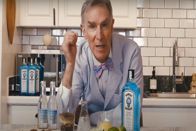 Bill Nye the gin guy: Bombay Sapphire explains the science behind gin and tonic