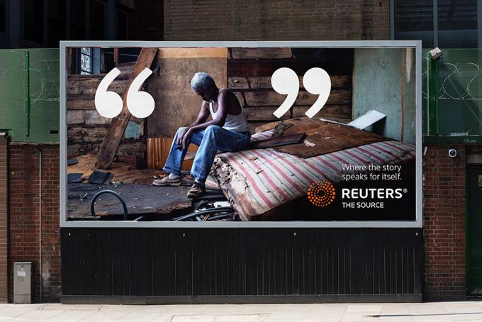 """Reuters """"The source"""" by VMLY&R London"""