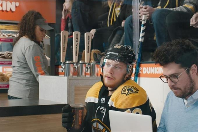 Where there's hockey, there's Dunkin'