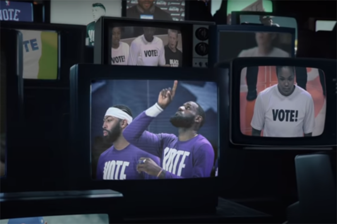 Nike inspires voter turnout through powerful athlete stories