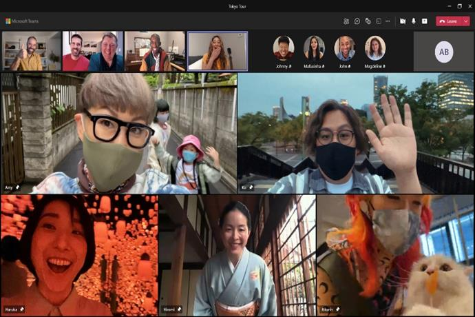 Microsoft Teams shows its social side in 'Ticket to Tokyo'
