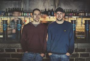 Martin Dickie and James Watt    Credit: BrewDog