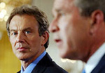 Iraq war: Bush and Blair