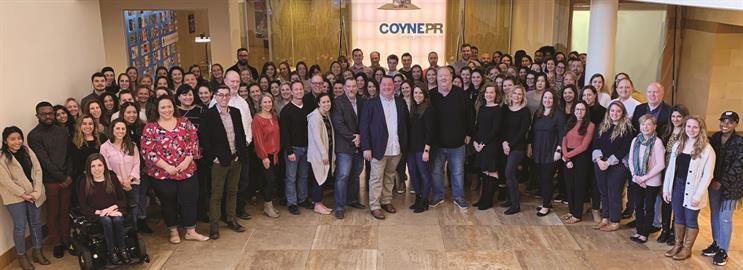Coyne PR team photo