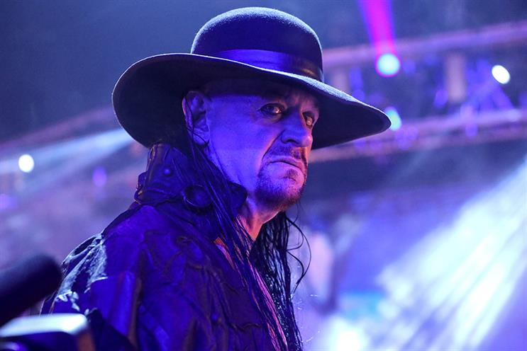 Recently retired WWE superstar wrestler The Undertaker