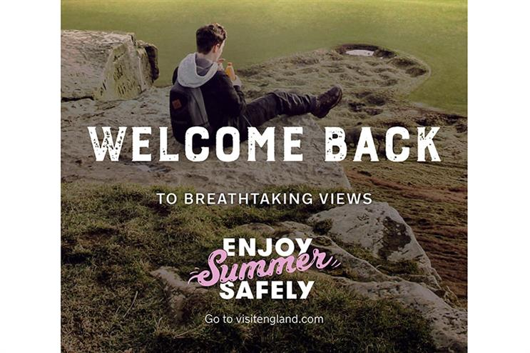 A poster for the 'Enjoy Summer Safely' campaign