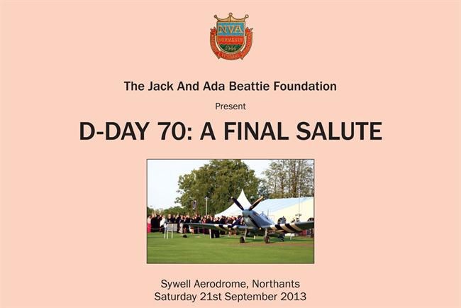 D-Day salute: The Jack and Ada Beattie Foundation hosts charity ball on 21 September