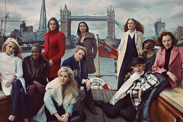 M&S: autumn collection campaign featuring Dame Helen Mirren and Tracey Emin