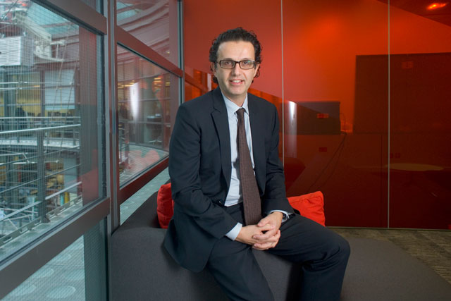 David Abraham: says viewers are engaged with and trust the Channel 4 brand