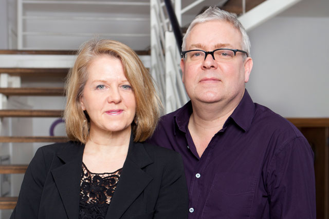 Diane Charlton and Joe Garton: duo launch Once Upon A Time
