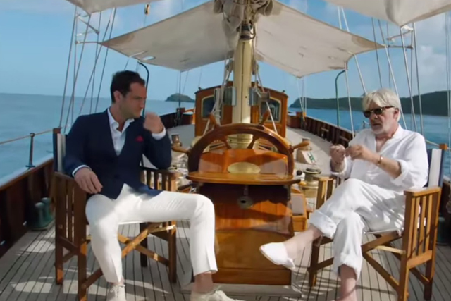Johnny Walker Blue Label: Jude Law and Giancarlo Giannini star in whisky ad