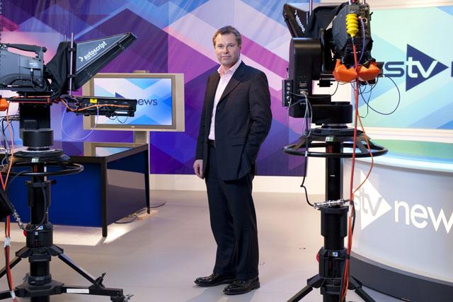 Rob Woodward: chief executive at STV