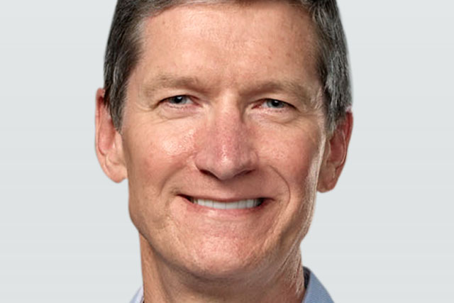 Tim Cook: takes the reins from Steve Jobs