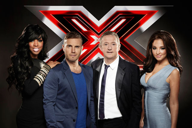 The X Factor: advertisers will be keeping an eye on its ratings
