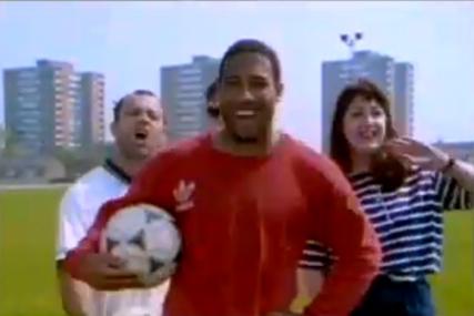John Barnes: World Cup rap from 1990