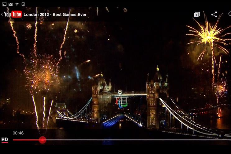 London 2012 highlighted in Google's annual review