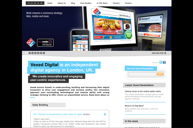 Vexed Digital...launched by Richard Davies in 2006