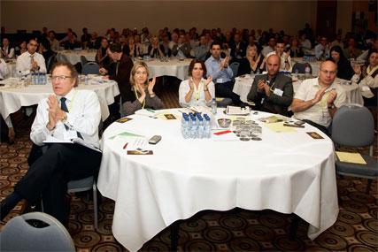 Media's elite: delegates at last year's Media 360 conference