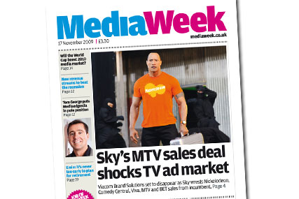 Today's Media Week, the last print edition to be published by Haymarket