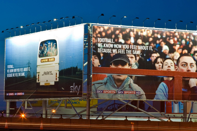 Big Sky Banners: the M6 Spectacular site